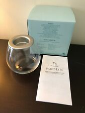 """P90875 PartyLite 4"""" Clearly Creative Glass Bulb Tealight holder Bnib"""