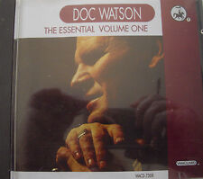 Doc Watson The Essential Volume One 5013116730827 Free P&P.