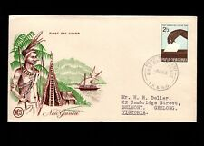 Papua & New Guinea Port Moresby 1st Day 1964 Common Election 2/+3 Cover 5l
