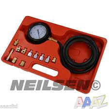 Medidor de presión de aceite de caja de onda Prueba Kit Probador Medidor diesel gasolina Coche Garaje Herramienta