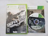 Xbox 360 Sniper Elite V2 Video Game Complete And Tested CIB FAST SHIP
