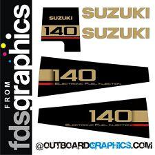 Suzuki DT140EFI outboard engine graphics/sticker kit