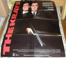 The Krays 1991 Video Release Movie Poster, Billie Whitelaw, Gary and Martin Kemp