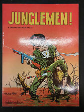 Junglemen! Dino Battaglia Hugo Pratt primo volume prima edizione 1980