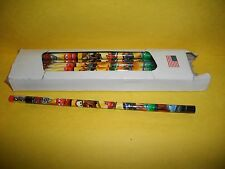 BOX OF DISNEY CARS 2 PENCILS~NEW IN BOX~16 TOTAL~ALL THE CARS ARE ON THEM