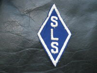 SLS DIAMOND LOGO EMBROIDERED SEW ON ONLY PATCH INITIAL COMPANY ADVERTISING