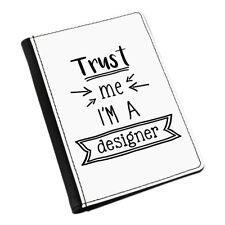 Trust Me I'm A Designer Passport Holder Cover Case Wallet - Funny Best Graphic