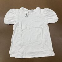 Project Social T Women's Size X-Small White Short Sleeve T-Shirt NWT