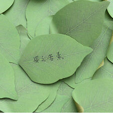 1 sets Leaf Memo Pad Sticky Post Note Paper Sticker Pads Stationery Office Tool