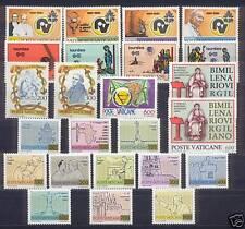 VATICANO  1981    ANNATA COMPLETA   MNH**