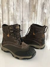 LL Bean Duck Thinsulate Boots Brown Mens Hunting Work Winter Snow Hiking 7 RARE!