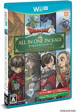 Video Game Wii U Dragon Quest X all-in-one package ver.1-4 Japan
