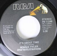 80'S / Rock 45 Bonnie Tyler - It'S About Time / It'S A Heartache On Rca