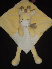 Nicotoy Giraffe Kuh gelb Schmusetuch Plüsch Stofftier 076 neuwertig