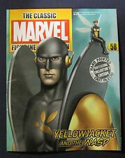 Eaglemoss Classic Marvel Figurine #58 YELLOWJACKET  (MAGAZINE ONLY NO LEAD FIG)