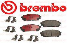 Brembo Performance Premium Ceramic Disc Brake Pad Complete Rear Set - P78014N