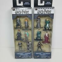 Harry Potter Nano Metalfigs 5 Pack Figure Set Jada Toys 84412 Pack A & B