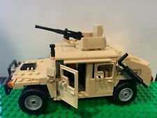 New Military Humvee jeep army Compatible w/ LEGO