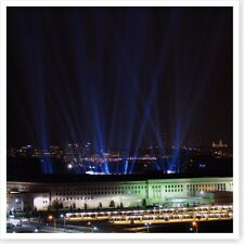9/11 Pentagon Attack 184 Beams Of Light 2006 Memorial Silver Halide Photo