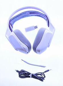 Logitech G733 Lightspeed Wireless RGB Gaming Headset - White