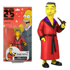 "NECA THE SIMPSONS SERIES 1 HUGH HEFNER 25th ANNIVERSARY 5"" COLLECTIBLE FIGURE"