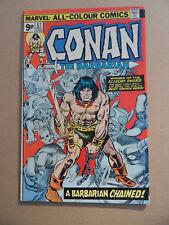 Conan The Barbarian 57 . Marvel 1975 .  VF - minus