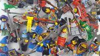LEGO Figuren - 5 Ritter Figuren (Burg, Ritterwelt)