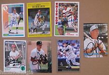 Chicago White Sox 7 Signed Cards MAGGLIO ORDONEZ Jason Bere CHARLIE HOUGH etc