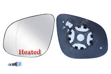 Renault Kangoo Heated Wing Mirror Large Glass N/S+ Backing Plate 2012  2016