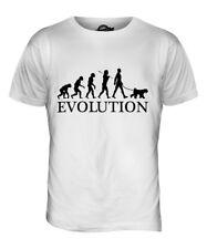 Kerry Blue Terrier Evolution Of Man Mens T-Shirt Tee Top Dog Gift Walker Walking