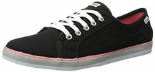 NEW ARRIVAL! KEDS COURSA BLACK LACE-UP CANVAS SHOES SNEAKERS US 7 37.5