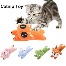 New listing Teeth Grinding Catnip Toys Funny Interactive Plush Cat Toy Claws Thumb Bite