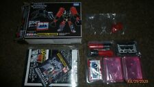 Transformers Takara Masterpiece MP-15 Rumble Ravage Figure Set Complete RARE