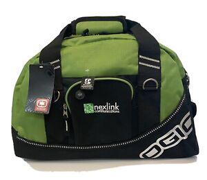 NEW Ogio Half Dome Duffle Bag Green NWT Audio Pocket Workout Gym Carry