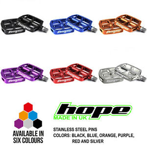 Hope Kids F12 Flat Platform Pedal - All Colors and Options - Brand New