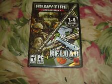 "Heavy Fire - Afghanistan/RELOAD (PC DVD ROM, 2013) ""T"" 2 games in one,  NEW"