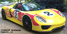Minichamps 110062446 - Porsche 918 Spyder –2013 – W / Paquet de Weissach –