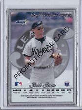 1996 Leaf Steel Silver Promo Craig Biggio #72 Promotional Sample