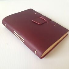 New RUSTICO Parley Leather Journals Diary Notebook Christmas GiftsBurgundyBuckle