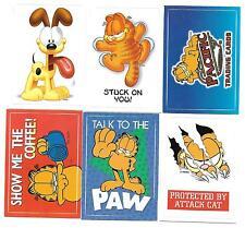 2004 Pacific GARFIELD Sticker Cards insert set (42 cards)