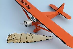 Bellanca CH-300 LITUANICA, detailed model kit, 1/32, DIY, laser cut wood, puzzle