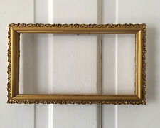 Antique Victorian Giltwood Picture Frame