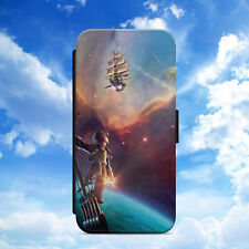 DISNEY/TREASURE PLANET/HAWKINS/FLIP WALLET PHONE CASE COVER FOR IPHONE/SAMSUNG