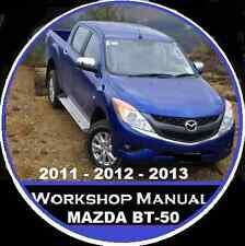 MAZDA BT-50 2011-2012-2013 WORKSHOP-ELECTRICAL REPAIR SERVICE MANUAL BT-50 CDROM