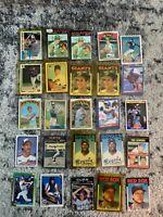 MLB Lot of 25 Cards HOF All-Star RC Great Value Ripken Johnson Sosa