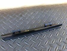BMW OEM E39 M5 S62 REAR LEFT SIDE OUTER DOOR WINDOW GLOSSY BLACK MOLDING TRIM