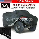 3XL Black 190T Heavy Duty ATV Cover For Honda Rincon 650 680 TRX650FA TRX680FA