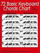 72 Basic Keyboard Chord Chart by Scott St. James (2000, Sheet Music)