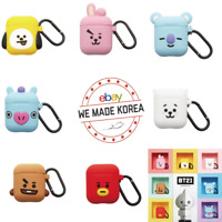 BT21 Airpod Case Silicone Cover Skin Cube Series 7types Authentic K-POP Goods