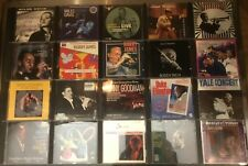JAZZ /  BLUES 40 CD LOT ELLINGTON/DIZZY/BASIE/ELLA/BIRD/HAMPTON/VAUGHAN/BENNY G.